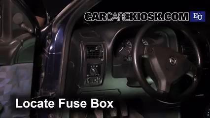 Interior Fuse Box Location: 1991-2004 Opel Astra - 1999 Opel Astra Elegance  1.6L 4 Cyl. | Ts Astra Fuse Box Location |  | CarCareKiosk