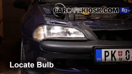 1999 Opel Tigra 1.4i 1.4L 4 Cyl. Luces Luz de marcha diurna (reemplazar foco)