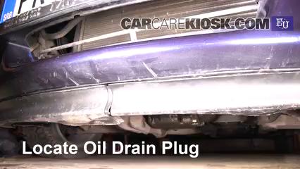1999 Opel Tigra 1.4i 1.4L 4 Cyl. Aceite Cambiar aceite y filtro de aceite