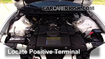 1999 Pontiac Firebird Formula 5.7L V8 Convertible Battery Jumpstart