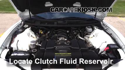 1999 Pontiac Firebird Formula 5.7L V8 Convertible Transmission Fluid Fix Leaks