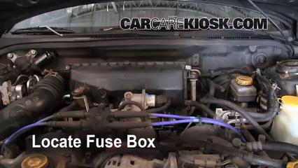 1999 Subaru Impreza Outback 2.2L 4 Cyl. Fusible (motor) Control