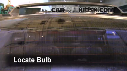 1999 Subaru Impreza Outback 2.2L 4 Cyl. Luces Luz de freno central (reemplazar foco)