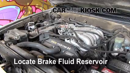 1999 Toyota 4Runner Limited 3.4L V6 Brake Fluid