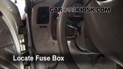 1999 Toyota 4Runner Limited 3.4L V6 Fuse (Interior)