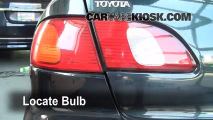 1999 Toyota Corolla CE 1.8L 4 Cyl. Lights