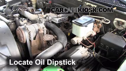 2000 chevrolet k3500 6 5l v8 turbo diesel cab and chassis fluid leaks oil  (fix