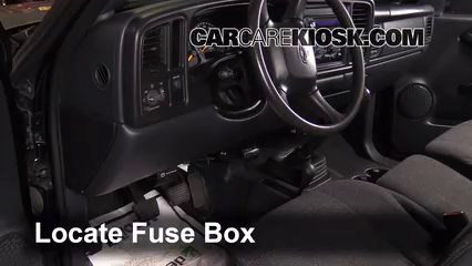 [SCHEMATICS_4FR]  Interior Fuse Box Location: 1999-2007 Chevrolet Silverado 1500 - 2000  Chevrolet Silverado 1500 5.3L V8 Extended Cab Pickup (4 Door) | Fuse Box 2000 Chevy Trucks |  | CarCareKiosk