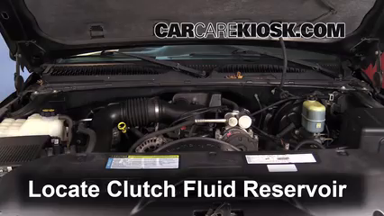 Add Transmission Fluid: 1999-2007 Chevrolet Silverado 1500 - 2002