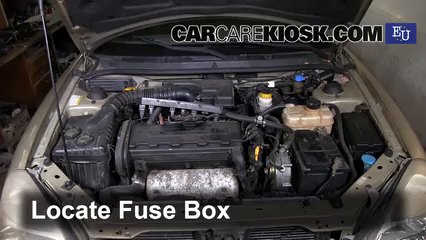 on daewoo nubira fuse box