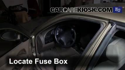 interior fuse box location 1999 2002 daewoo lanos 2000 daewoo Suzuki Jimny Interior