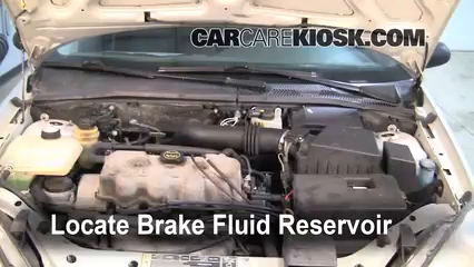 2000 Ford Focus SE 2.0L 4 Cyl. Sedan Brake Fluid