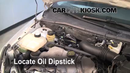 2000 Ford Focus SE 2.0L 4 Cyl. Sedan Fluid Leaks Oil (fix leaks)