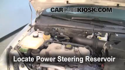 2000 Ford Focus SE 2.0L 4 Cyl. Sedan Power Steering Fluid Fix Leaks