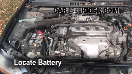 Battery Replacement: 1998 2002 Honda Accord