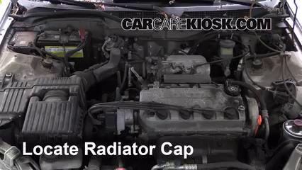 Remove The Radiator Cap Before Draining