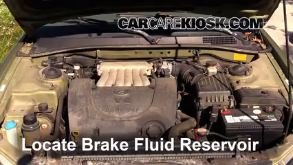 2000 Hyundai Sonata GLS 2.5L V6 Brake Fluid Add Fluid