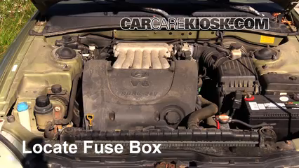 2000 hyundai sonata gls 2 5l v6 fuse (engine) replace