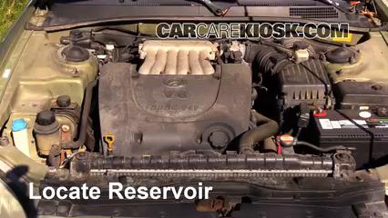 Add Transmission Fluid 1999 2001 Hyundai Sonata