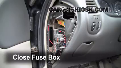 astra fuse box removal interior fuse box location: 1999-2004 oldsmobile alero ...