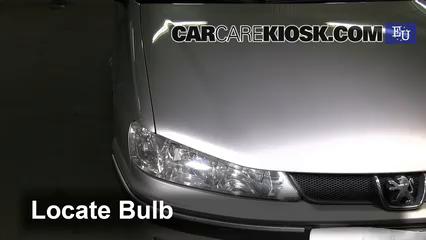 2000 peugeot 406 lx hdi 2 0l 4 cyl  turbo diesel lights turn signal -
