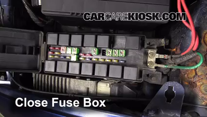 Replace a Fuse 1996 2000 Dodge Caravan 1997 Dodge