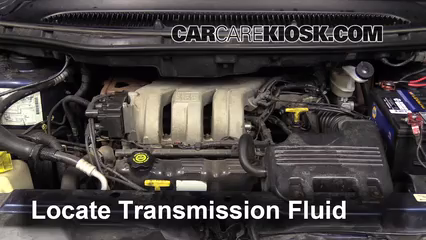 2010 chrysler town and country transmission fluid capacity