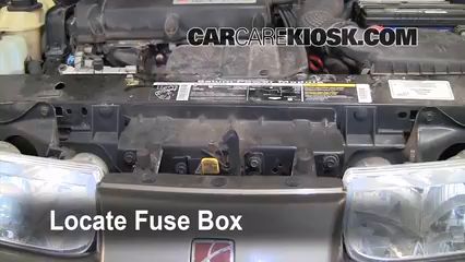 replace a fuse: 1991-2002 saturn sl