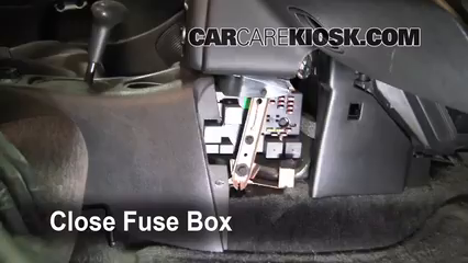 Interior Fuse Box Location: 1991-2002 Saturn SL - 2000 Saturn SL 1.9 ...