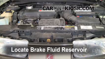 2000 Saturn SL 1.9L 4 Cyl. Brake Fluid