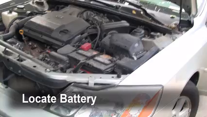 Battery Replacement: 2000-2004 Toyota Avalon - 2000 Toyota