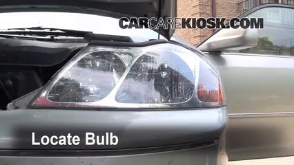 2000 toyota avalon xls 3 0l v6 lights headlight (replace bulb)