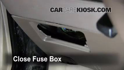 Interior Fuse Box Location: 1997-2001 Toyota Camry - 2000 ... on