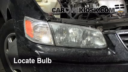 2000 toyota camry ce 2 2l 4 cyl  lights headlight (replace bulb)