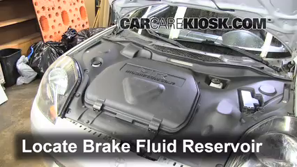 2. Find Reservoir Locate The Brake Fluid Reservoir And Clean It