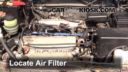 2000 Toyota RAV4 2.0L 4 Cyl. Air Filter (Engine) Check