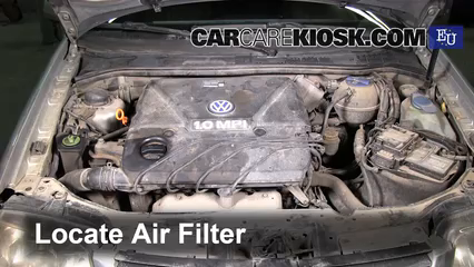 2000 Volkswagen Polo 1.0L 4 Cyl. Air Filter (Engine)