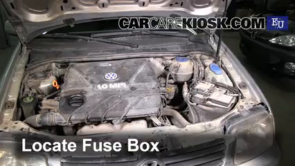 2000 Volkswagen Polo 1.0L 4 Cyl. Fuse (Engine)