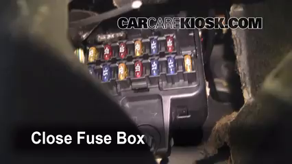 Interior Fuse Box Location: 2000-2004 Volvo S40 - 2004 Volvo S40 1.9L 4  Cyl. TurboCarCareKiosk