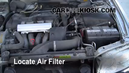 2000 Volvo V40 1.9L 4 Cyl. Turbo Air Filter (Engine) Replace