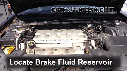 2000 Cadillac Eldorado ESC 4.6L V8 Liquide de frein