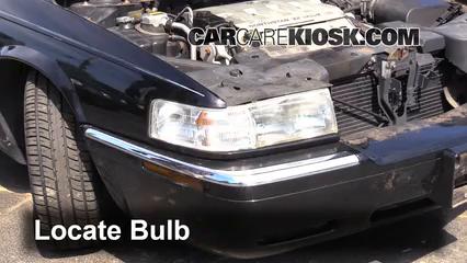 2000 Cadillac Eldorado ESC 4.6L V8 Luces Luz de giro delantera (reemplazar foco)