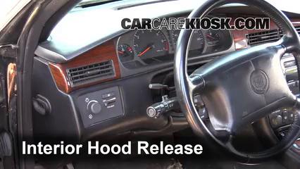 2000 Cadillac Eldorado ESC 4.6L V8 Capot