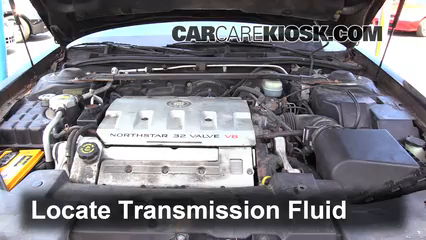 2000 Cadillac Eldorado ESC 4.6L V8 Liquide de transmission