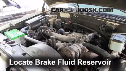2000 Chevrolet K3500 6.5L V8 Turbo Diesel Cab and Chassis Brake Fluid