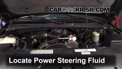 2000 Chevrolet Silverado 1500 4.3L V6 Standard Cab Pickup (2 Door) Liquide de direction assistée
