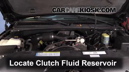 2000 Chevrolet Silverado 1500 4.3L V6 Standard Cab Pickup (2 Door) Liquide de transmission