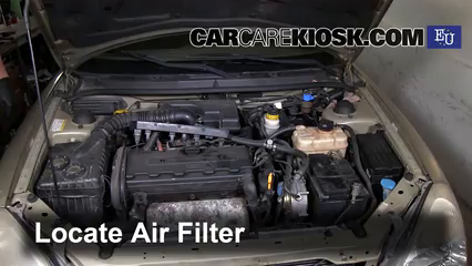 2000 Daewoo Nubira SE 2.0L 4 Cyl. Air Filter (Engine)