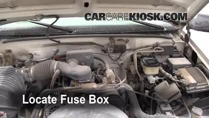 2000 GMC C3500 Sierra SL 7.4L V8 Extended Cab Pickup (2 Door) Fuse (Engine)