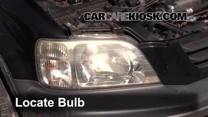 2000 Honda CR-V EX 2.0L 4 Cyl. Éclairage Feu clignotant avant (remplacer l'ampoule)